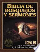 1 y 2 Tesalonicenses, 1 y 2 Timoteo, Tito, Filemon