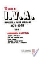 10 años de I.V.A.