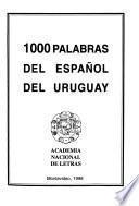 1000 palabras del español del Uruguay