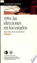 1994, las elecciones en los estados