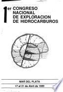 1er Congreso Nacional de Exploración de Hidrocarburos