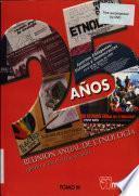 25 años Reunión Anual de Etnología