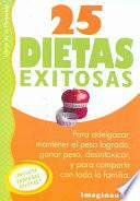 25 Dietas Exitosas