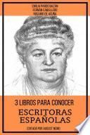 3 Libros Para Conocer Escritoras Españolas
