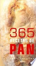 365 recetas de pan