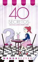 40 secretos que toda soltera debería saber