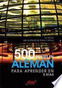 500 frases en alemán para aprender en 5 días