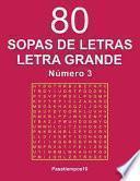 80 Sopas De Letras