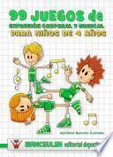 99 Juegos de Expresión Corporal y Musical para niños de 4 años.