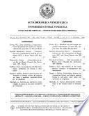 Acta biológica venezuelica
