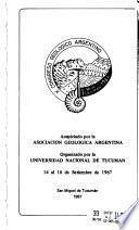 Actas del ... Congreso Geológico Argentino