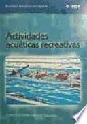 Actividades acuáticas recreativas