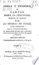 Adela y Teodoro ó Cartas sobre la educacion