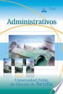 Administrativo de la Universidad Pablo de Olavide de Sevilla. Test Ebook