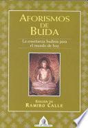 Aforismos de Buda