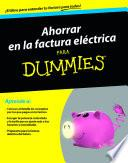 Ahorrar en la factura eléctrica para Dummies