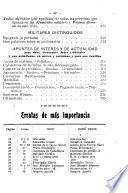 Almanaque para el ejército para el año de 1909