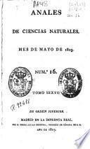 Anales de ciencias naturales