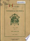 Anales de la Universidad de Cuenca