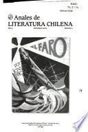Anales de literatura chilena