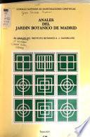 Anales del Jardín Botánico de Madrid