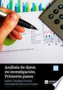 Análisis de datos en investigación. Primeros pasos