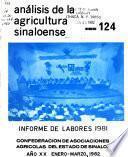 Análisis de la agricultura Sinaloense