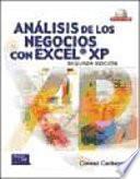 Analisis de Los Negocios Con Excel XP