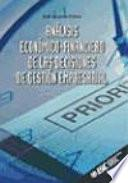 Análisis Económico-Financiero de Las Decisiones de Gestión Empresarial