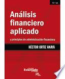 Análisis Financiero Aplicado y Principios de Administración Financiera