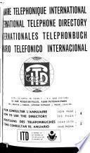 Annuaire Téléphonique International