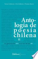Antología de poesía chilena Vol. II