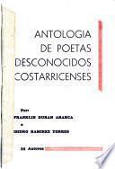 Antología de poetas desconocidos costarricenses