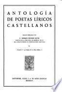 Antologiá de poetas liricos castellanos