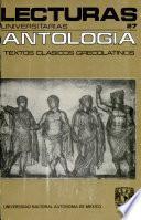 Antología de textos clásicos grecolatinos