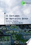 Antología del II Certamen Internacional de relatos breves Cerilla Mágica