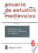 Anuario de estudios medievales