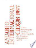 Anuario internacional CIDOB ...
