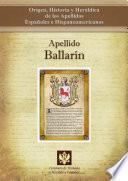Apellido Ballarín