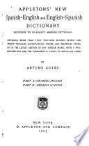Appletons' New Spanish-English and English-Spanish Dictionary
