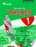 APRENDA FÁCIL ITALIANO 1