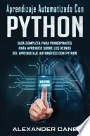 Aprendizaje Automatizado Con Python