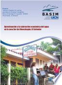 Aproximación a la valoración económica del agua en la zona Sur de Ahuachapán, El Salvador