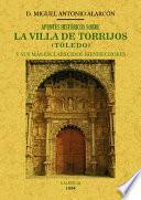 Apuntes históricos sobre la villa de Torrijos (Toledo) y sus más esclarecidos bienhechores