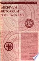 Archivum Historicum Societatis Iesu