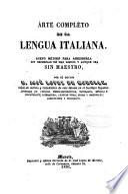 Arte completo de la lengua italiana