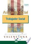 Asistente Social/trabajador Social de la Generalitat Valenciana. Temario Volumen Ii Ebook