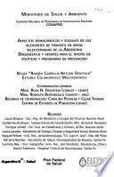 Aspectos demográficos y sociales de los accidentes de tránsito en áreas seleccionadas de la Argentina