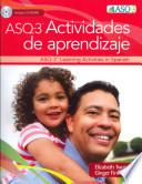 ASQ-3 actividades de aprendizaje / ASQ-3 Learning Activities in Spanish