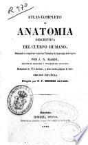 Atlas completo de anatomía descriptiva del cuerpo humano